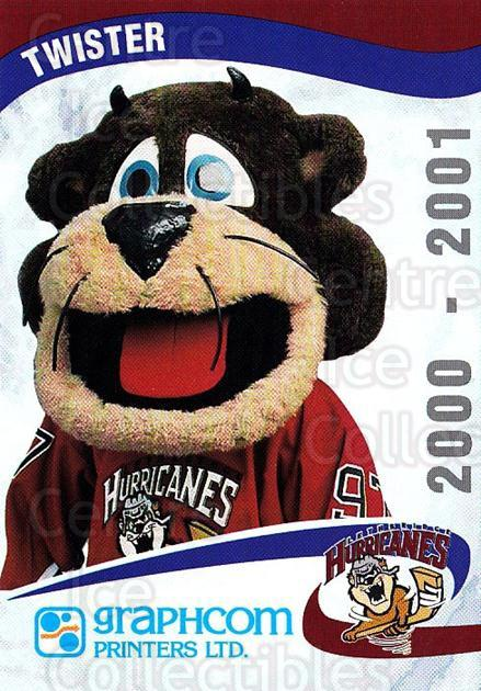 2000-01 Lethbridge Hurricanes #23 Mascot<br/>1 In Stock - $3.00 each - <a href=https://centericecollectibles.foxycart.com/cart?name=2000-01%20Lethbridge%20Hurricanes%20%2323%20Mascot...&quantity_max=1&price=$3.00&code=752872 class=foxycart> Buy it now! </a>