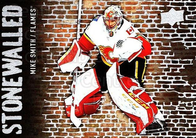 2018-19 Upper Deck Stonewalled #32 Mike Smith<br/>1 In Stock - $2.00 each - <a href=https://centericecollectibles.foxycart.com/cart?name=2018-19%20Upper%20Deck%20Stonewalled%20%2332%20Mike%20Smith...&quantity_max=1&price=$2.00&code=753050 class=foxycart> Buy it now! </a>