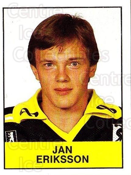 1985-86 Swedish Panini Stickers #6 Jan Eriksson<br/>1 In Stock - $3.00 each - <a href=https://centericecollectibles.foxycart.com/cart?name=1985-86%20Swedish%20Panini%20Stickers%20%236%20Jan%20Eriksson...&quantity_max=1&price=$3.00&code=753294 class=foxycart> Buy it now! </a>