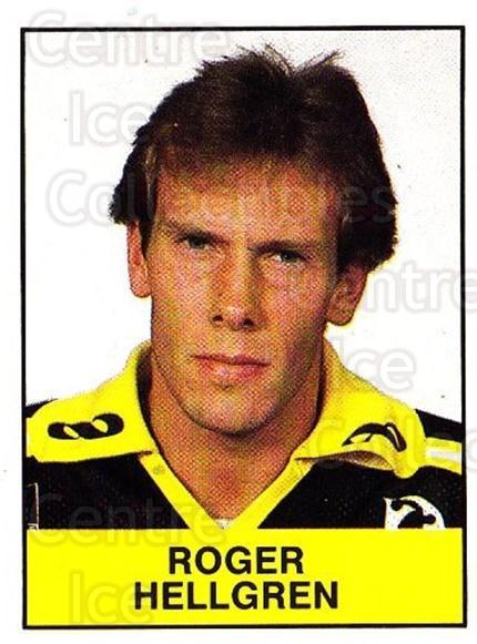 1985-86 Swedish Panini Stickers #10 Roger Hellgren<br/>1 In Stock - $3.00 each - <a href=https://centericecollectibles.foxycart.com/cart?name=1985-86%20Swedish%20Panini%20Stickers%20%2310%20Roger%20Hellgren...&quantity_max=1&price=$3.00&code=753298 class=foxycart> Buy it now! </a>