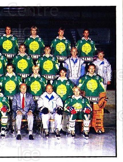 1985-86 Swedish Panini Stickers #24 Bjorkloven IF, Team Photo<br/>1 In Stock - $3.00 each - <a href=https://centericecollectibles.foxycart.com/cart?name=1985-86%20Swedish%20Panini%20Stickers%20%2324%20Bjorkloven%20IF,%20...&quantity_max=1&price=$3.00&code=753312 class=foxycart> Buy it now! </a>