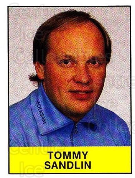 1985-86 Swedish Panini Stickers #35 Tommy Sandlin<br/>1 In Stock - $3.00 each - <a href=https://centericecollectibles.foxycart.com/cart?name=1985-86%20Swedish%20Panini%20Stickers%20%2335%20Tommy%20Sandlin...&quantity_max=1&price=$3.00&code=753323 class=foxycart> Buy it now! </a>