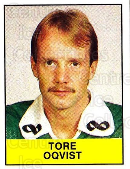 1985-86 Swedish Panini Stickers #43 Tore Oqvist<br/>1 In Stock - $3.00 each - <a href=https://centericecollectibles.foxycart.com/cart?name=1985-86%20Swedish%20Panini%20Stickers%20%2343%20Tore%20Oqvist...&quantity_max=1&price=$3.00&code=753331 class=foxycart> Buy it now! </a>