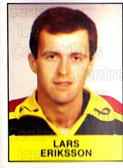 1985-86 Swedish Panini Stickers #47 Lars Eriksson<br/>1 In Stock - $3.00 each - <a href=https://centericecollectibles.foxycart.com/cart?name=1985-86%20Swedish%20Panini%20Stickers%20%2347%20Lars%20Eriksson...&quantity_max=1&price=$3.00&code=753335 class=foxycart> Buy it now! </a>