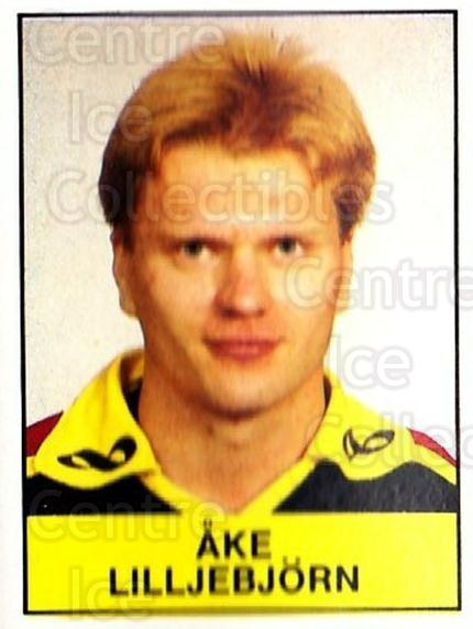 1985-86 Swedish Panini Stickers #48 Ake Lilljebjorn<br/>1 In Stock - $3.00 each - <a href=https://centericecollectibles.foxycart.com/cart?name=1985-86%20Swedish%20Panini%20Stickers%20%2348%20Ake%20Lilljebjorn...&quantity_max=1&price=$3.00&code=753336 class=foxycart> Buy it now! </a>