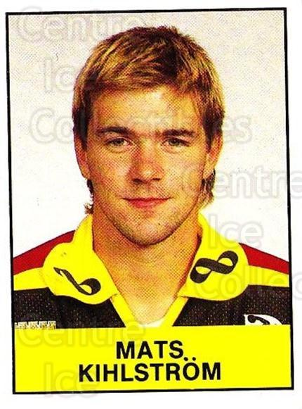 1985-86 Swedish Panini Stickers #51 Mats Kihlstrom<br/>1 In Stock - $3.00 each - <a href=https://centericecollectibles.foxycart.com/cart?name=1985-86%20Swedish%20Panini%20Stickers%20%2351%20Mats%20Kihlstrom...&quantity_max=1&price=$3.00&code=753339 class=foxycart> Buy it now! </a>