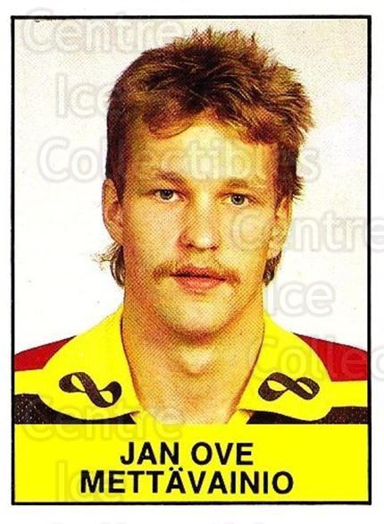 1985-86 Swedish Panini Stickers #52 Jan Ove Mettavainio<br/>1 In Stock - $3.00 each - <a href=https://centericecollectibles.foxycart.com/cart?name=1985-86%20Swedish%20Panini%20Stickers%20%2352%20Jan%20Ove%20Mettava...&quantity_max=1&price=$3.00&code=753340 class=foxycart> Buy it now! </a>