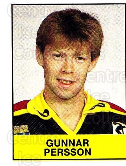 1985-86 Swedish Panini Stickers #53 Gunnar Persson<br/>1 In Stock - $3.00 each - <a href=https://centericecollectibles.foxycart.com/cart?name=1985-86%20Swedish%20Panini%20Stickers%20%2353%20Gunnar%20Persson...&quantity_max=1&price=$3.00&code=753341 class=foxycart> Buy it now! </a>