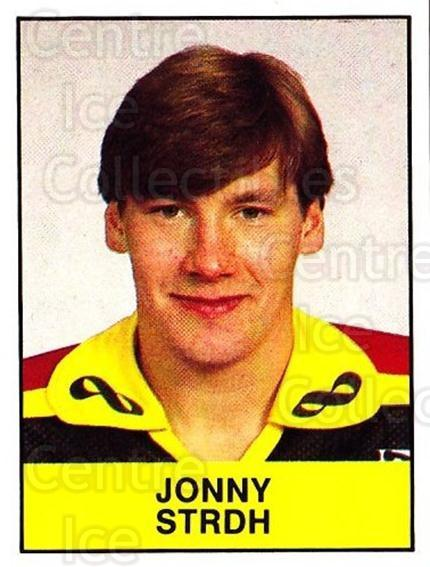 1985-86 Swedish Panini Stickers #61 Jonny Stridh<br/>1 In Stock - $3.00 each - <a href=https://centericecollectibles.foxycart.com/cart?name=1985-86%20Swedish%20Panini%20Stickers%20%2361%20Jonny%20Stridh...&quantity_max=1&price=$3.00&code=753349 class=foxycart> Buy it now! </a>
