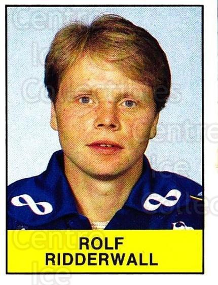 1985-86 Swedish Panini Stickers #69 Rolf Ridderwall<br/>1 In Stock - $3.00 each - <a href=https://centericecollectibles.foxycart.com/cart?name=1985-86%20Swedish%20Panini%20Stickers%20%2369%20Rolf%20Ridderwall...&quantity_max=1&price=$3.00&code=753357 class=foxycart> Buy it now! </a>