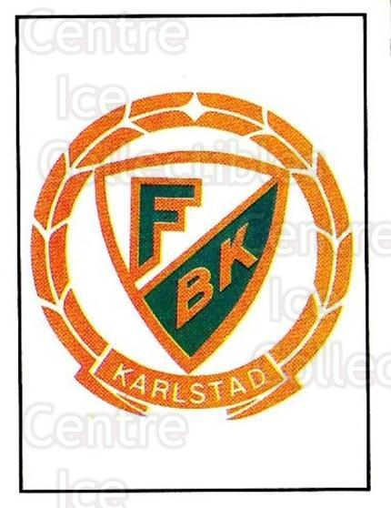1985-86 Swedish Panini Stickers #89 Farjestad BK<br/>1 In Stock - $3.00 each - <a href=https://centericecollectibles.foxycart.com/cart?name=1985-86%20Swedish%20Panini%20Stickers%20%2389%20Farjestad%20BK...&quantity_max=1&price=$3.00&code=753377 class=foxycart> Buy it now! </a>