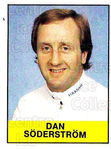 1985-86 Swedish Panini Stickers #132 Dan Soderstrom<br/>1 In Stock - $3.00 each - <a href=https://centericecollectibles.foxycart.com/cart?name=1985-86%20Swedish%20Panini%20Stickers%20%23132%20Dan%20Soderstrom...&quantity_max=1&price=$3.00&code=753420 class=foxycart> Buy it now! </a>
