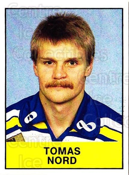1985-86 Swedish Panini Stickers #140 Tomas Nord<br/>1 In Stock - $3.00 each - <a href=https://centericecollectibles.foxycart.com/cart?name=1985-86%20Swedish%20Panini%20Stickers%20%23140%20Tomas%20Nord...&quantity_max=1&price=$3.00&code=753428 class=foxycart> Buy it now! </a>