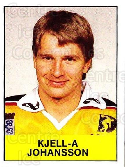 1985-86 Swedish Panini Stickers #158 Kjell-Ake Johansson<br/>1 In Stock - $3.00 each - <a href=https://centericecollectibles.foxycart.com/cart?name=1985-86%20Swedish%20Panini%20Stickers%20%23158%20Kjell-Ake%20Johan...&quantity_max=1&price=$3.00&code=753446 class=foxycart> Buy it now! </a>