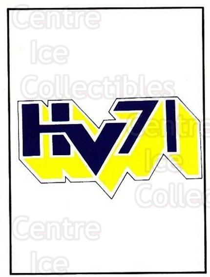 1985-86 Swedish Panini Stickers #175 HV71<br/>1 In Stock - $3.00 each - <a href=https://centericecollectibles.foxycart.com/cart?name=1985-86%20Swedish%20Panini%20Stickers%20%23175%20HV71...&quantity_max=1&price=$3.00&code=753463 class=foxycart> Buy it now! </a>