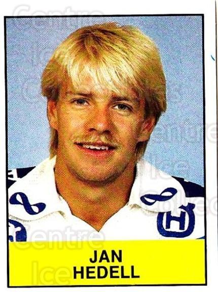 1985-86 Swedish Panini Stickers #182 Jan Hedell<br/>1 In Stock - $3.00 each - <a href=https://centericecollectibles.foxycart.com/cart?name=1985-86%20Swedish%20Panini%20Stickers%20%23182%20Jan%20Hedell...&quantity_max=1&price=$3.00&code=753470 class=foxycart> Buy it now! </a>