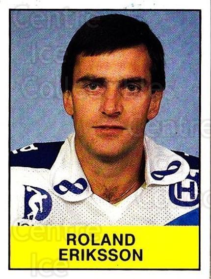 1985-86 Swedish Panini Stickers #192 Roland Eriksson<br/>1 In Stock - $3.00 each - <a href=https://centericecollectibles.foxycart.com/cart?name=1985-86%20Swedish%20Panini%20Stickers%20%23192%20Roland%20Eriksson...&quantity_max=1&price=$3.00&code=753480 class=foxycart> Buy it now! </a>