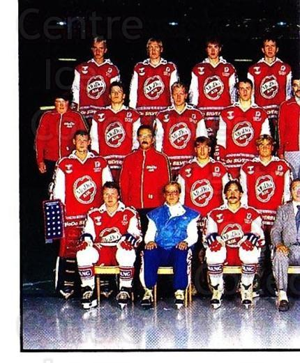 1985-86 Swedish Panini Stickers #197 MODO Hockey, Team Photo<br/>1 In Stock - $3.00 each - <a href=https://centericecollectibles.foxycart.com/cart?name=1985-86%20Swedish%20Panini%20Stickers%20%23197%20MODO%20Hockey,%20Te...&quantity_max=1&price=$3.00&code=753485 class=foxycart> Buy it now! </a>