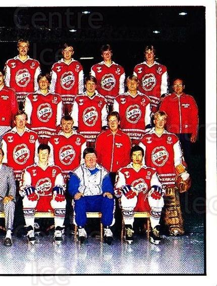 1985-86 Swedish Panini Stickers #198 MODO Hockey, Team Photo<br/>1 In Stock - $3.00 each - <a href=https://centericecollectibles.foxycart.com/cart?name=1985-86%20Swedish%20Panini%20Stickers%20%23198%20MODO%20Hockey,%20Te...&quantity_max=1&price=$3.00&code=753486 class=foxycart> Buy it now! </a>