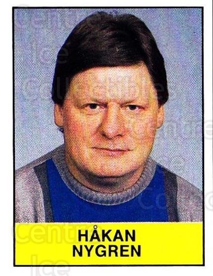 1985-86 Swedish Panini Stickers #209 Hakan Nygren<br/>1 In Stock - $3.00 each - <a href=https://centericecollectibles.foxycart.com/cart?name=1985-86%20Swedish%20Panini%20Stickers%20%23209%20Hakan%20Nygren...&quantity_max=1&price=$3.00&code=753497 class=foxycart> Buy it now! </a>