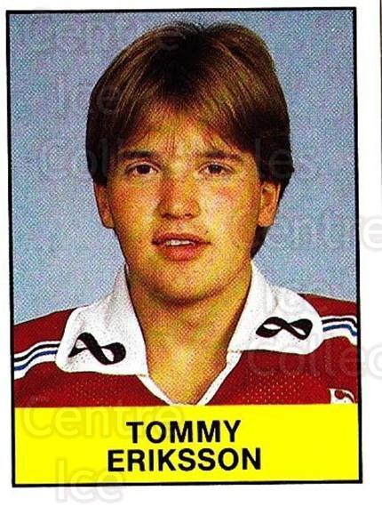 1985-86 Swedish Panini Stickers #215 Tommy Eriksson<br/>1 In Stock - $3.00 each - <a href=https://centericecollectibles.foxycart.com/cart?name=1985-86%20Swedish%20Panini%20Stickers%20%23215%20Tommy%20Eriksson...&quantity_max=1&price=$3.00&code=753503 class=foxycart> Buy it now! </a>