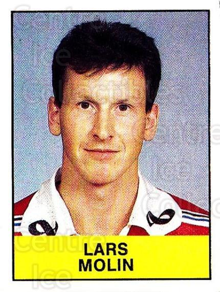1985-86 Swedish Panini Stickers #216 Lars Molin<br/>1 In Stock - $3.00 each - <a href=https://centericecollectibles.foxycart.com/cart?name=1985-86%20Swedish%20Panini%20Stickers%20%23216%20Lars%20Molin...&quantity_max=1&price=$3.00&code=753504 class=foxycart> Buy it now! </a>