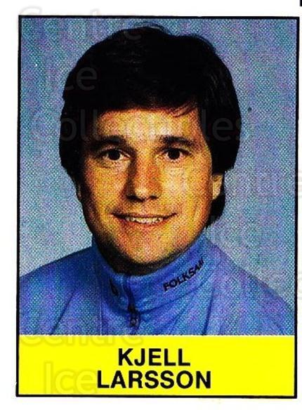 1985-86 Swedish Panini Stickers #220 Kjell Larsson<br/>1 In Stock - $3.00 each - <a href=https://centericecollectibles.foxycart.com/cart?name=1985-86%20Swedish%20Panini%20Stickers%20%23220%20Kjell%20Larsson...&quantity_max=1&price=$3.00&code=753508 class=foxycart> Buy it now! </a>