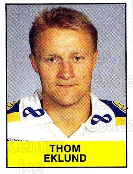 1985-86 Swedish Panini Stickers #229 Thom Eklund<br/>1 In Stock - $3.00 each - <a href=https://centericecollectibles.foxycart.com/cart?name=1985-86%20Swedish%20Panini%20Stickers%20%23229%20Thom%20Eklund...&quantity_max=1&price=$3.00&code=753517 class=foxycart> Buy it now! </a>