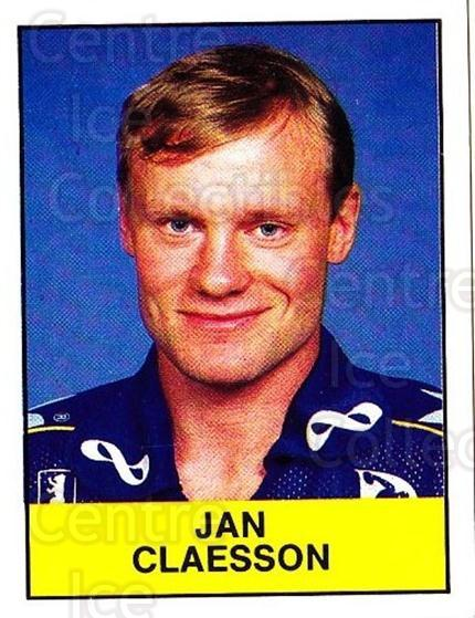 1985-86 Swedish Panini Stickers #234 Jan Claesson<br/>1 In Stock - $3.00 each - <a href=https://centericecollectibles.foxycart.com/cart?name=1985-86%20Swedish%20Panini%20Stickers%20%23234%20Jan%20Claesson...&quantity_max=1&price=$3.00&code=753522 class=foxycart> Buy it now! </a>