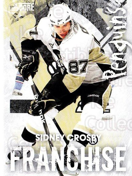 2010-11 Score Franchise #24 Sidney Crosby<br/>1 In Stock - $5.00 each - <a href=https://centericecollectibles.foxycart.com/cart?name=2010-11%20Score%20Franchise%20%2324%20Sidney%20Crosby...&quantity_max=1&price=$5.00&code=753965 class=foxycart> Buy it now! </a>