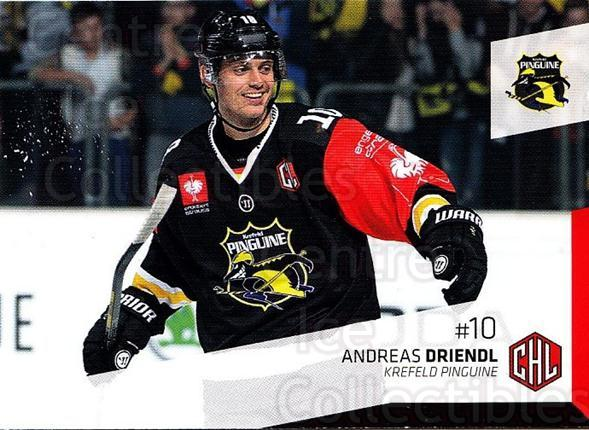 2014-15 German DEL #401 Andreas Driendl<br/>5 In Stock - $2.00 each - <a href=https://centericecollectibles.foxycart.com/cart?name=2014-15%20German%20DEL%20%23401%20Andreas%20Driendl...&quantity_max=5&price=$2.00&code=754372 class=foxycart> Buy it now! </a>