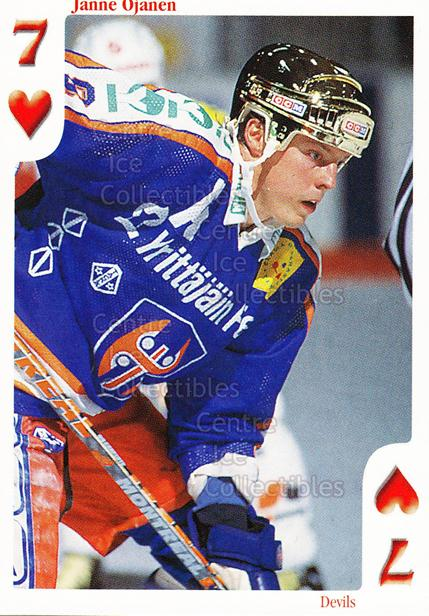 1999-00 Finnish Cardset Aces High Playing Card #45 Janne Ojanen<br/>12 In Stock - $2.00 each - <a href=https://centericecollectibles.foxycart.com/cart?name=1999-00%20Finnish%20Cardset%20Aces%20High%20Playing%20Card%20%2345%20Janne%20Ojanen...&quantity_max=12&price=$2.00&code=75468 class=foxycart> Buy it now! </a>