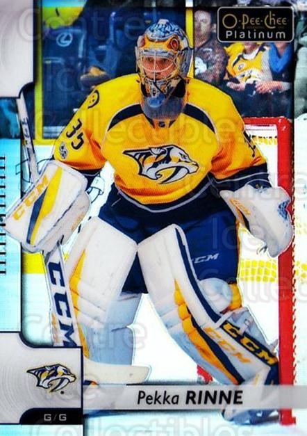 2017-18 O-Pee-Chee Platinum Rainbow #79 Pekka Rinne<br/>1 In Stock - $3.00 each - <a href=https://centericecollectibles.foxycart.com/cart?name=2017-18%20O-Pee-Chee%20Platinum%20Rainbow%20%2379%20Pekka%20Rinne...&quantity_max=1&price=$3.00&code=754902 class=foxycart> Buy it now! </a>