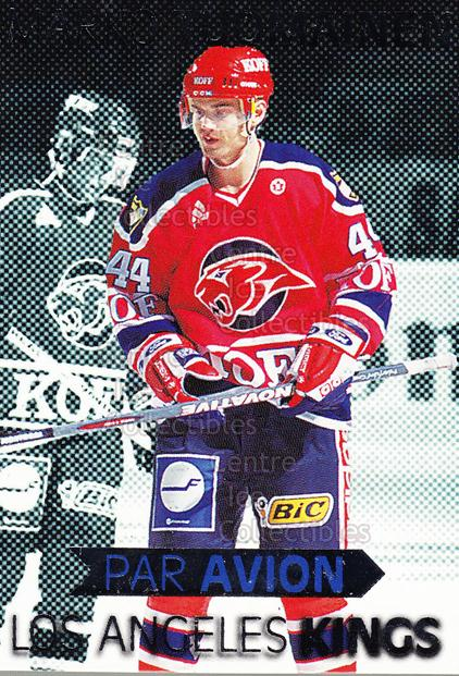 1999-00 Finnish Cardset Par Avion #7 Marko Tuomainen<br/>7 In Stock - $3.00 each - <a href=https://centericecollectibles.foxycart.com/cart?name=1999-00%20Finnish%20Cardset%20Par%20Avion%20%237%20Marko%20Tuomainen...&quantity_max=7&price=$3.00&code=75500 class=foxycart> Buy it now! </a>