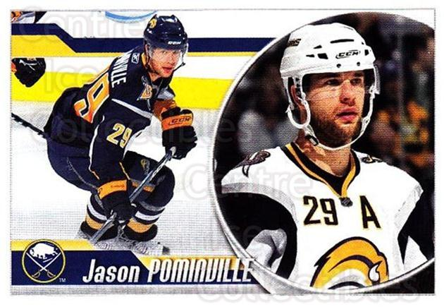 2010-11 Panini Stickers #31 Jason Pominville<br/>2 In Stock - $1.00 each - <a href=https://centericecollectibles.foxycart.com/cart?name=2010-11%20Panini%20Stickers%20%2331%20Jason%20Pominvill...&quantity_max=2&price=$1.00&code=755090 class=foxycart> Buy it now! </a>