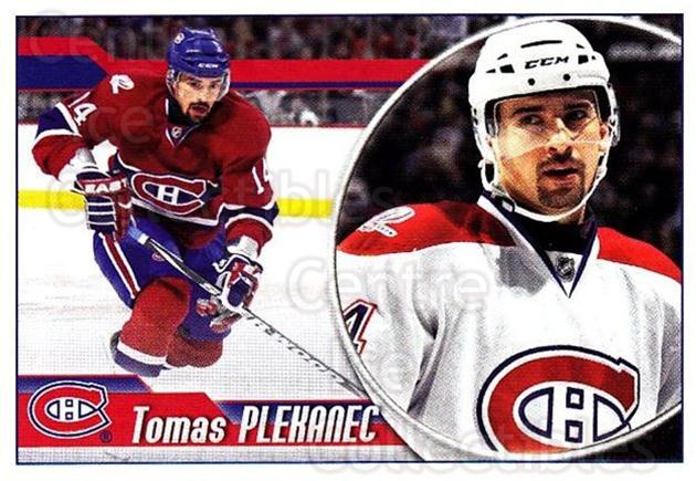2010-11 Panini Stickers #61 Tomas Plekanec<br/>1 In Stock - $1.00 each - <a href=https://centericecollectibles.foxycart.com/cart?name=2010-11%20Panini%20Stickers%20%2361%20Tomas%20Plekanec...&quantity_max=1&price=$1.00&code=755120 class=foxycart> Buy it now! </a>