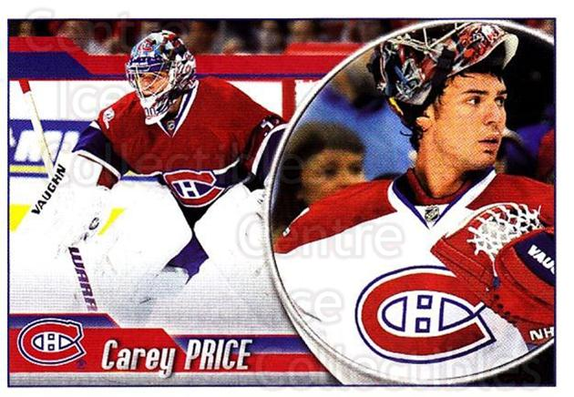 2010-11 Panini Stickers #65 Carey Price<br/>2 In Stock - $5.00 each - <a href=https://centericecollectibles.foxycart.com/cart?name=2010-11%20Panini%20Stickers%20%2365%20Carey%20Price...&quantity_max=2&price=$5.00&code=755124 class=foxycart> Buy it now! </a>
