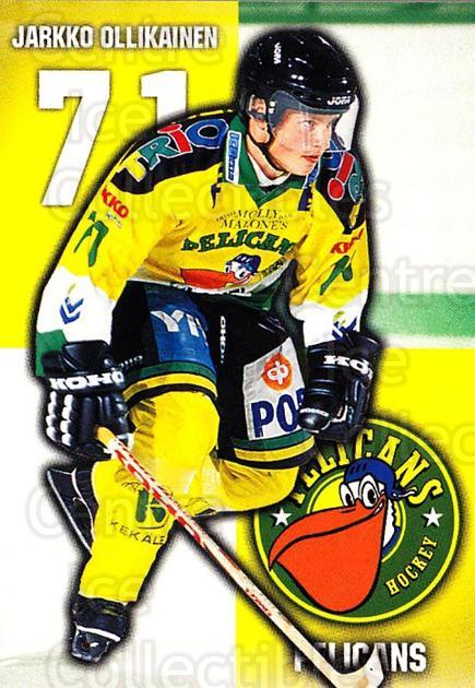 1999-00 Finnish Cardset #102 Jarkko Ollikainen<br/>7 In Stock - $2.00 each - <a href=https://centericecollectibles.foxycart.com/cart?name=1999-00%20Finnish%20Cardset%20%23102%20Jarkko%20Ollikain...&quantity_max=7&price=$2.00&code=75512 class=foxycart> Buy it now! </a>