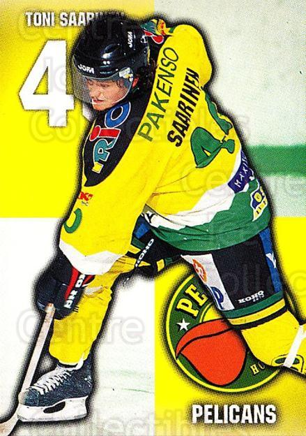 1999-00 Finnish Cardset #103 Toni Saarinen<br/>7 In Stock - $2.00 each - <a href=https://centericecollectibles.foxycart.com/cart?name=1999-00%20Finnish%20Cardset%20%23103%20Toni%20Saarinen...&quantity_max=7&price=$2.00&code=75513 class=foxycart> Buy it now! </a>