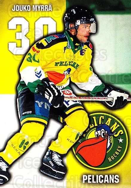 1999-00 Finnish Cardset #105 Jouko Mytta<br/>6 In Stock - $2.00 each - <a href=https://centericecollectibles.foxycart.com/cart?name=1999-00%20Finnish%20Cardset%20%23105%20Jouko%20Mytta...&quantity_max=6&price=$2.00&code=75515 class=foxycart> Buy it now! </a>