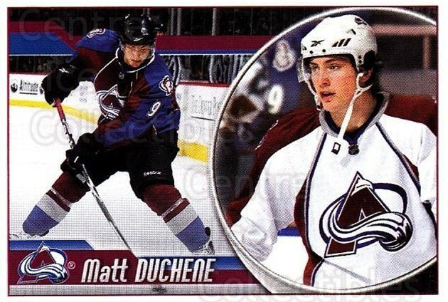 2010-11 Panini Stickers #189 Matt Duchene<br/>2 In Stock - $1.00 each - <a href=https://centericecollectibles.foxycart.com/cart?name=2010-11%20Panini%20Stickers%20%23189%20Matt%20Duchene...&quantity_max=2&price=$1.00&code=755248 class=foxycart> Buy it now! </a>