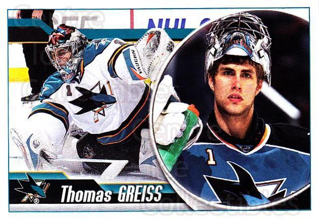 2010-11 Panini Stickers #286 Thomas Greiss<br/>1 In Stock - $1.00 each - <a href=https://centericecollectibles.foxycart.com/cart?name=2010-11%20Panini%20Stickers%20%23286%20Thomas%20Greiss...&quantity_max=1&price=$1.00&code=755345 class=foxycart> Buy it now! </a>