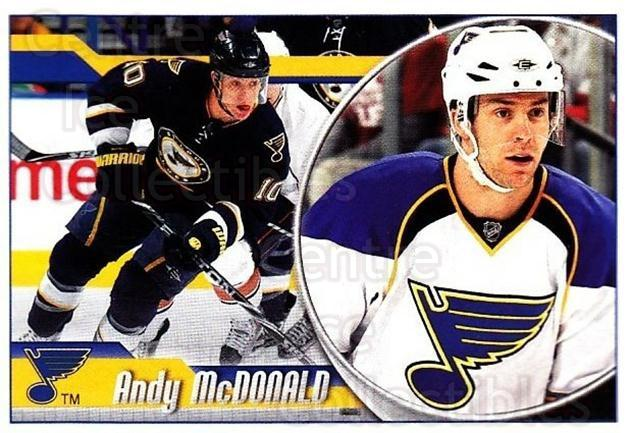 2010-11 Panini Stickers #292 Andy McDonald<br/>2 In Stock - $1.00 each - <a href=https://centericecollectibles.foxycart.com/cart?name=2010-11%20Panini%20Stickers%20%23292%20Andy%20McDonald...&quantity_max=2&price=$1.00&code=755351 class=foxycart> Buy it now! </a>