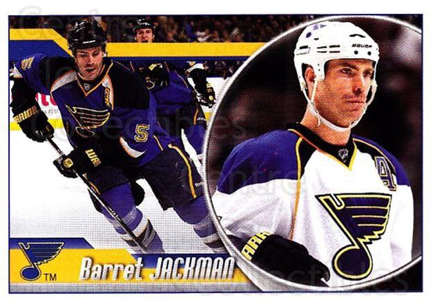 2010-11 Panini Stickers #293 Barret Jackman<br/>1 In Stock - $1.00 each - <a href=https://centericecollectibles.foxycart.com/cart?name=2010-11%20Panini%20Stickers%20%23293%20Barret%20Jackman...&quantity_max=1&price=$1.00&code=755352 class=foxycart> Buy it now! </a>