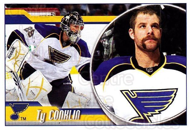 2010-11 Panini Stickers #294 Ty Conklin<br/>2 In Stock - $1.00 each - <a href=https://centericecollectibles.foxycart.com/cart?name=2010-11%20Panini%20Stickers%20%23294%20Ty%20Conklin...&quantity_max=2&price=$1.00&code=755353 class=foxycart> Buy it now! </a>