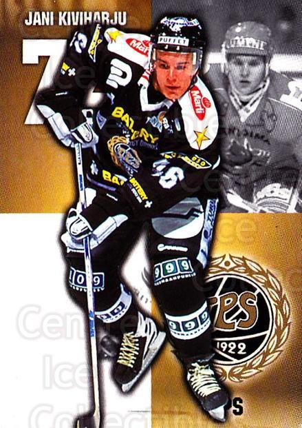 1999-00 Finnish Cardset #136 Jani Kiviharju<br/>7 In Stock - $2.00 each - <a href=https://centericecollectibles.foxycart.com/cart?name=1999-00%20Finnish%20Cardset%20%23136%20Jani%20Kiviharju...&quantity_max=7&price=$2.00&code=75548 class=foxycart> Buy it now! </a>