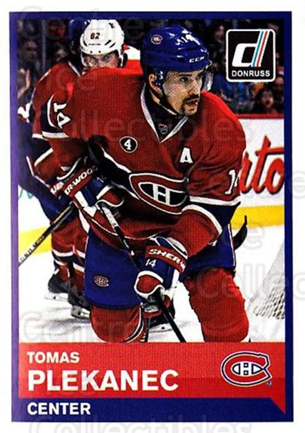 2015-16 Panini Stickers #107 Tomas Plekanec<br/>1 In Stock - $1.00 each - <a href=https://centericecollectibles.foxycart.com/cart?name=2015-16%20Panini%20Stickers%20%23107%20Tomas%20Plekanec...&quantity_max=1&price=$1.00&code=755530 class=foxycart> Buy it now! </a>