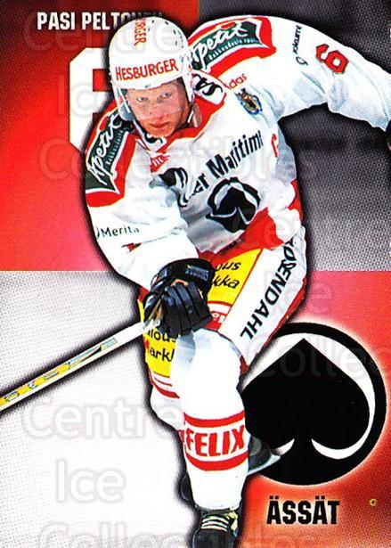 1999-00 Finnish Cardset #147 Pasi Peltonen<br/>7 In Stock - $2.00 each - <a href=https://centericecollectibles.foxycart.com/cart?name=1999-00%20Finnish%20Cardset%20%23147%20Pasi%20Peltonen...&quantity_max=7&price=$2.00&code=75560 class=foxycart> Buy it now! </a>