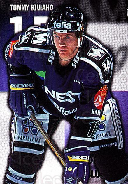 1999-00 Finnish Cardset #15 Tommy Kiviaho<br/>5 In Stock - $2.00 each - <a href=https://centericecollectibles.foxycart.com/cart?name=1999-00%20Finnish%20Cardset%20%2315%20Tommy%20Kiviaho...&quantity_max=5&price=$2.00&code=75563 class=foxycart> Buy it now! </a>