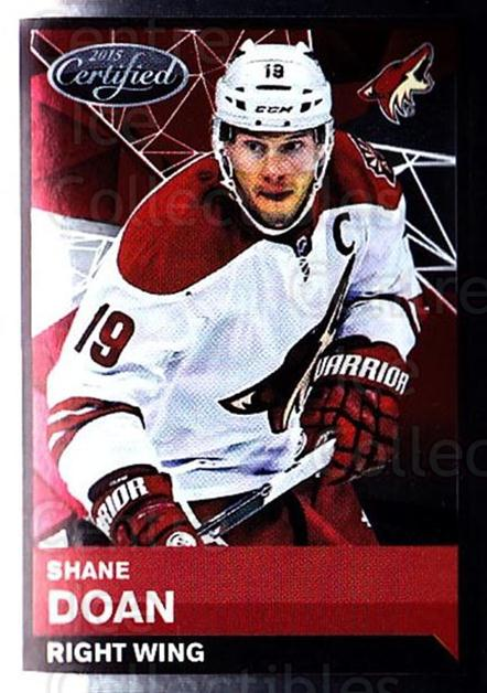 2015-16 Panini Stickers #251 Shane Doan<br/>1 In Stock - $1.00 each - <a href=https://centericecollectibles.foxycart.com/cart?name=2015-16%20Panini%20Stickers%20%23251%20Shane%20Doan...&quantity_max=1&price=$1.00&code=755674 class=foxycart> Buy it now! </a>